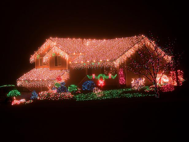 roof holiday decorations
