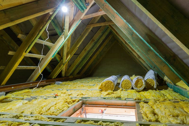 insulation is part of an energy efficient roof